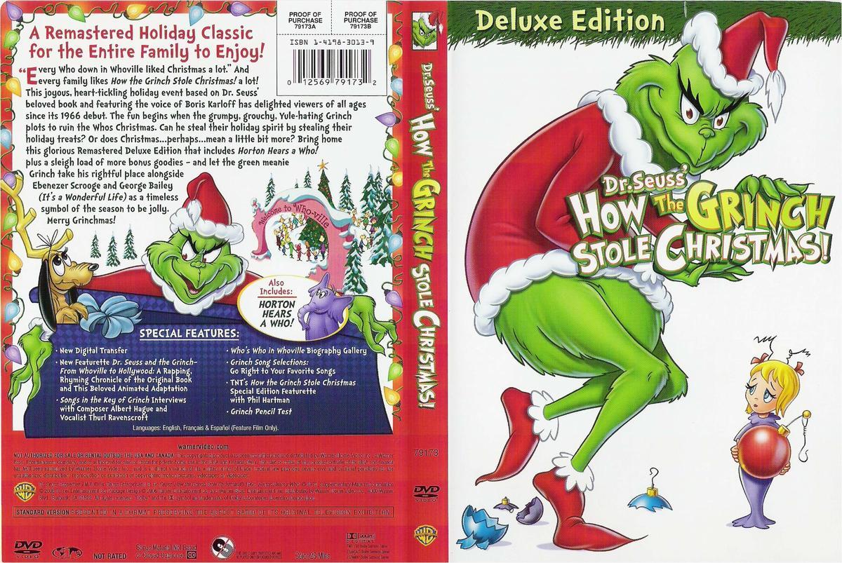 Amazoncom Dr Seuss How the Grinch Stole Christmas